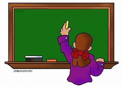 Chalkboard Clipart Clip Blackboard Clean Domain Clipartix