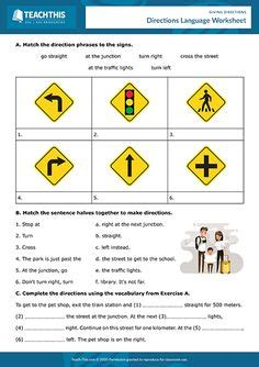 As part of meeting the requirements to get your maryland learner's permit or driver's license, you must take a knowledge test and correctly answer 22 out of 25 questions, to achieve the required passing score of 85%. Traffic Sign Matchup | Worksheet | Education.com | Drivers ...