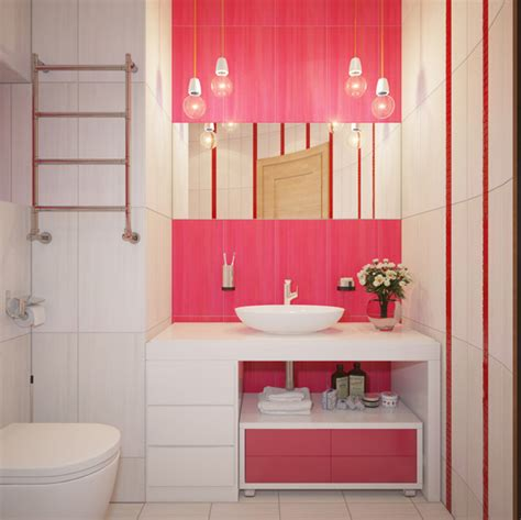 Light Pink Bathroom by 15 Chic And Pretty Pink Bathroom Designs Home Design Lover