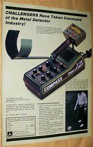 Vintage Compass Metal Detector Advertisements  Private