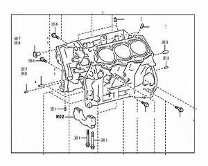 Lexus Rx 350 Pin  Ring For Timing Belt Idler Bracket Set