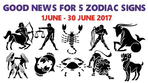 Good News For 5 Zodiac Signs, Lucky Month June 2017
