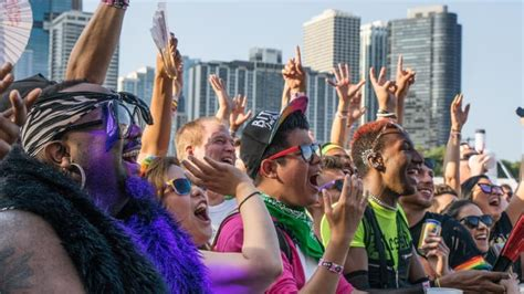 The rainbow flag as a symbol for lgbt. Pride In The Park Chicago Announces 2021 Lineup With Tiësto, Gryffin, More - EDM.com - The ...