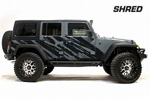 jeep wrangler rubicon custom vinyl graphics decal 2 4 kit With custom jeep lettering