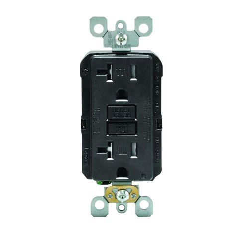 Leviton Smartlockpro 20 Amp Slim Tamper Resistant Gfci