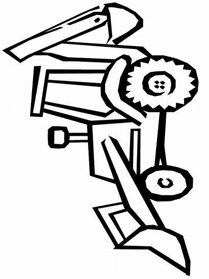 Coloring Construction Pages Equipment