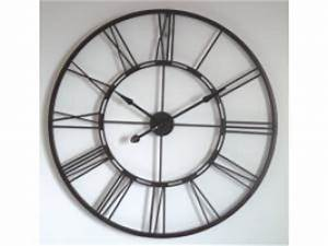 Grosse Pendule Murale : d co o acheter une grande horloge geante de gare murale ~ Teatrodelosmanantiales.com Idées de Décoration
