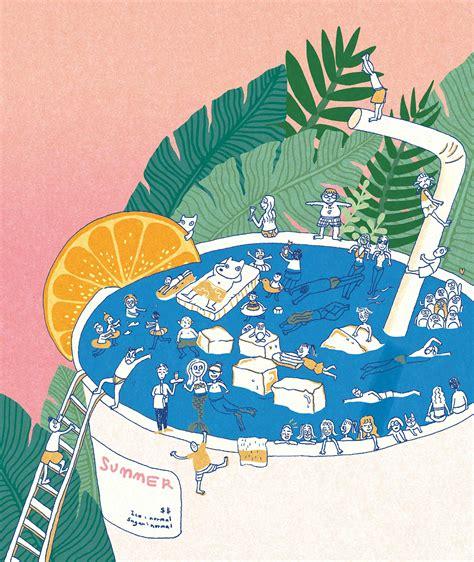 illustration / about summer on Behance