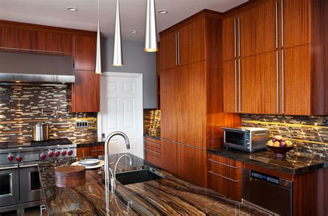 mahogany wood kitchen cabinets mahogany kitchen 7327