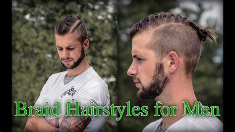 braid hairstyles  men youtube