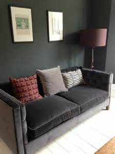 grey velvet sofa - Sofa Discount