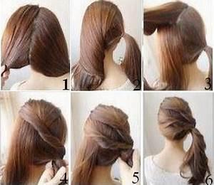 Coiffure Simple Femme : coiffure simple et rapide pour cheveux long ~ Melissatoandfro.com Idées de Décoration