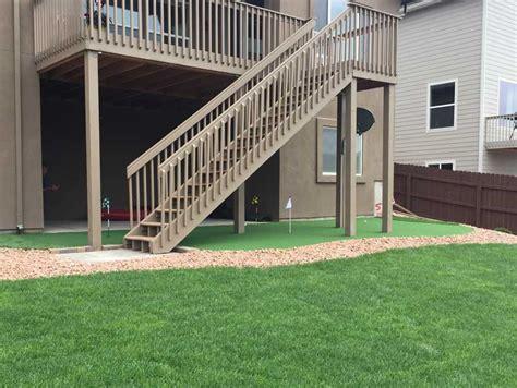 Backyard Artificial Putting Green by Backyard Putting Green In Walnut California Putting