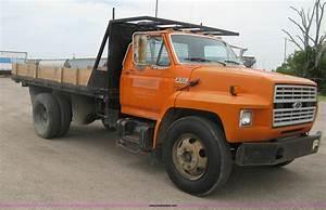 1989 Ford F600 Flatbed Dump Truck In Wichita  Ks
