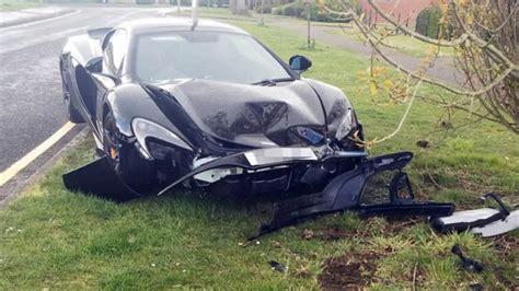 Brand New Mclaren 650s Crashes