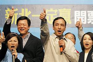 Ruling party dominates Taiwan polls