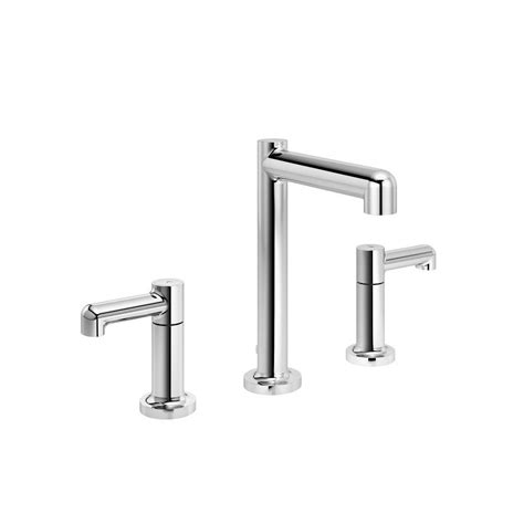 symmons faucets home depot symmons allura 8 in widespread 2 handle mid arc bathroom