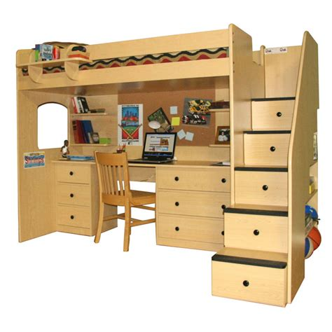 double bunk bed with desk loft bed with desk australia get bunky