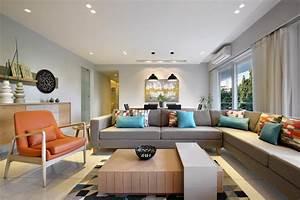 3 Room Flat Interior Design With Elegance AT Associates