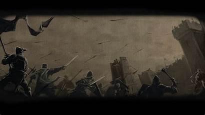 Medieval Background Chivalry Warfare Siege Backgrounds Windows