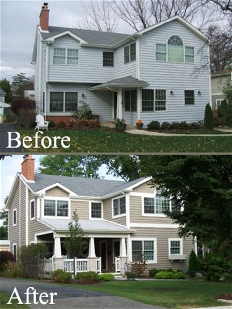 before and after home exterior makeovers 17 best images about ugly house makeovers on pinterest before after home exterior home