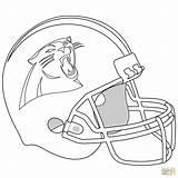 Panther Panthers Coloring Carolina Pages Helmet Nfl Drawing Baby Printable Football Super Bowl Newton Cam Sheets Florida Jaguar Print Sports sketch template