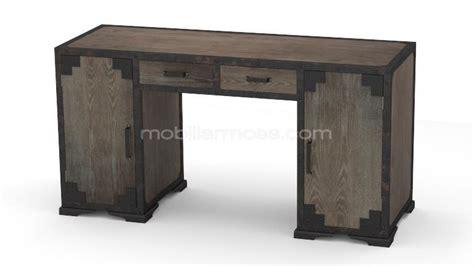 bureau de style bureau de style industriel chicago en bois et métal