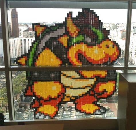 bureau post it projet pixel en ce2