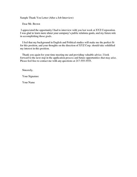 Follow Up Letter After Resume Sle by Sle Follow Up Letter Crna Cover Letter Thank You For
