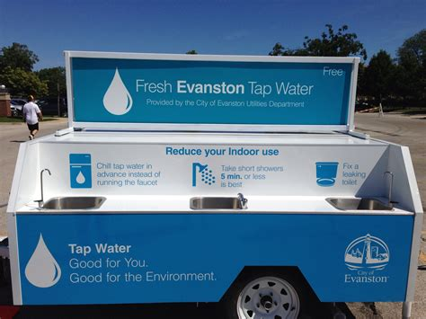 200 gallon water tank mobile water station saves 99 000 single use plastic