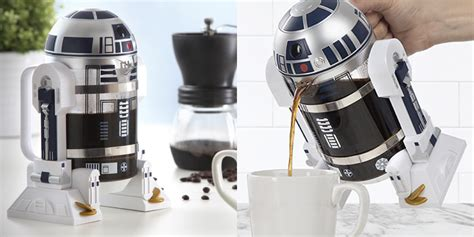 This R2 D2 French Press Brews The Coffee You Are Looking For   Fatherly