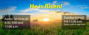 Easter Sunrise Service & Regular Easter Services & Sunday ...