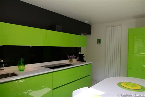 peinture cuisine vert anis cuisine leicht couleur verte