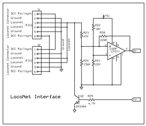 loconet arduino interface curious t mo
