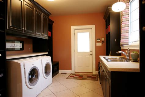 laundry room  built  cabinetry modern laundry