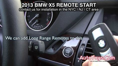 Bmw X5 2013 F15 Remote Start From Factory Transmitters By