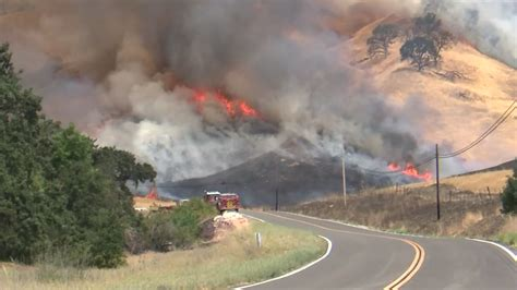 County Fire burning near Lake Berryessa scorches nearly ...