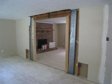 how to remove a load bearing interior wall how to remove a load bearing wall one project closer