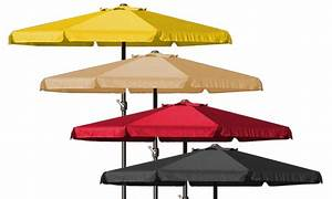 Sonnenschirm 350 Mit Kurbel : sonnenschirm mit kurbel groupon goods ~ Watch28wear.com Haus und Dekorationen