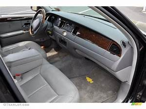 Light Graphite Interior 2000 Lincoln Town Car Cartier