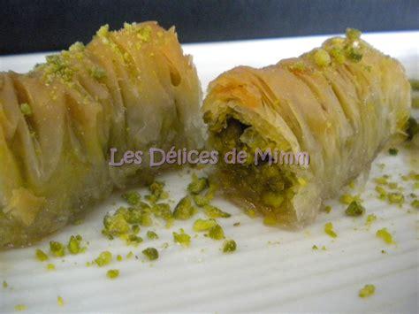 recettes cuisine libanaise baklavas rolls aux pistaches recette libanaise les