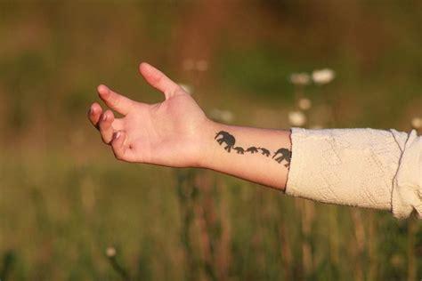 fall  love   elephant tattoo today