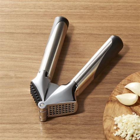 furniture islands kitchen oxo steel garlic press reviews crate and barrel
