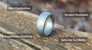 home rhino rings With non conductive wedding rings