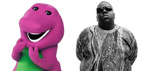 Barney The Dinosaur Sings The Notorious Big's 'get