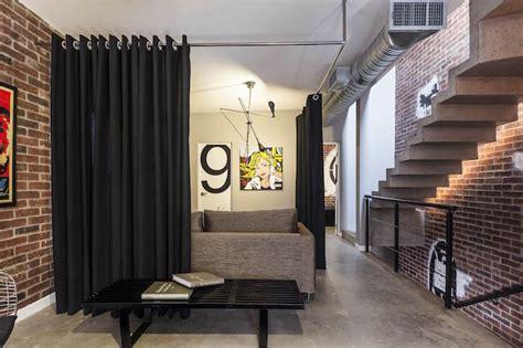 rideau separation cuisine salon 1001 idées meuble de séparation diviser pour mieux