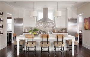 10 things you may not know about adding color to your for Kitchen colors with white cabinets with large carved wood wall art