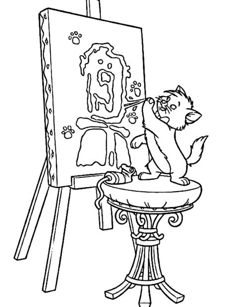 Kleurplaat Aristocats by Aristocats Coloring Pages Best Coloring Pages For
