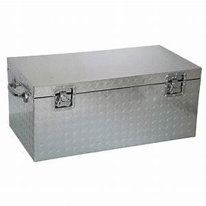 Coffre En Métal : malle en aluminium 89x48x38cm acheter malle m tal ~ Teatrodelosmanantiales.com Idées de Décoration