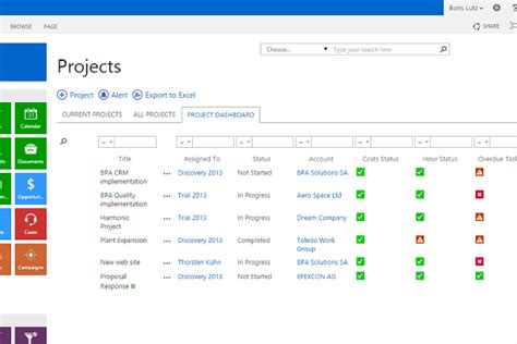sharepoint project management managing projects in sharepoint 2013